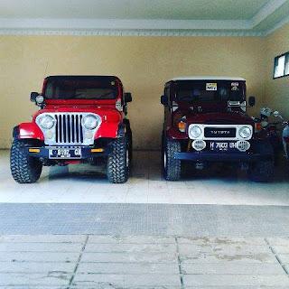 Barang Simpenan Jeep Hardtop dan CJ7 ..Monggo Gan ....