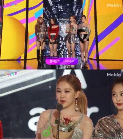 Black Pink Wins Female Dance At The 2018 Melon Music Awards