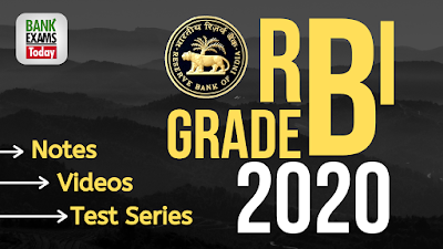 RBI Grade B 2020 Online Course
