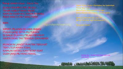Lagu Pelangi Sehabis Hujan Mp3