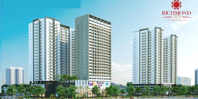 dự án căn hộ richmond city quận Bình Thạnh