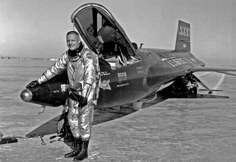 Neil Armstrong, piloto del X-15