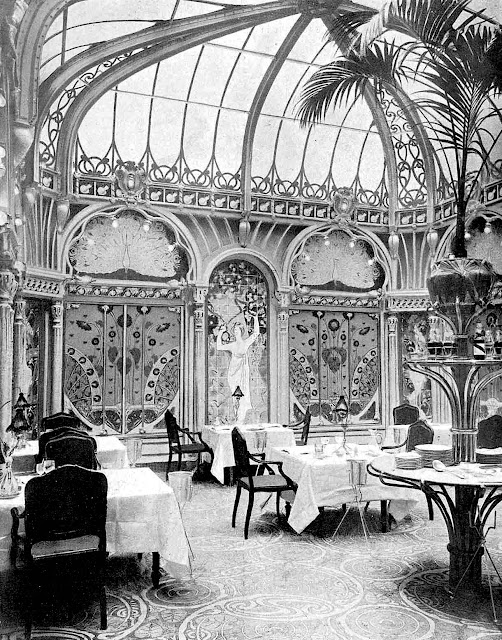 1890s restaurant or tea room