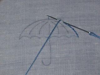 Back stitch - Punto indietro