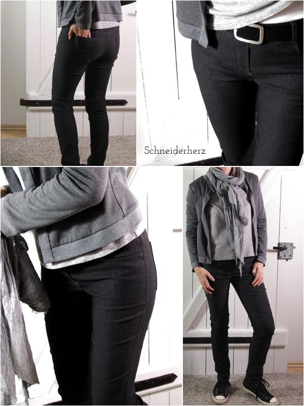 Detailbilder Quin Schnittquelle schmale Hose