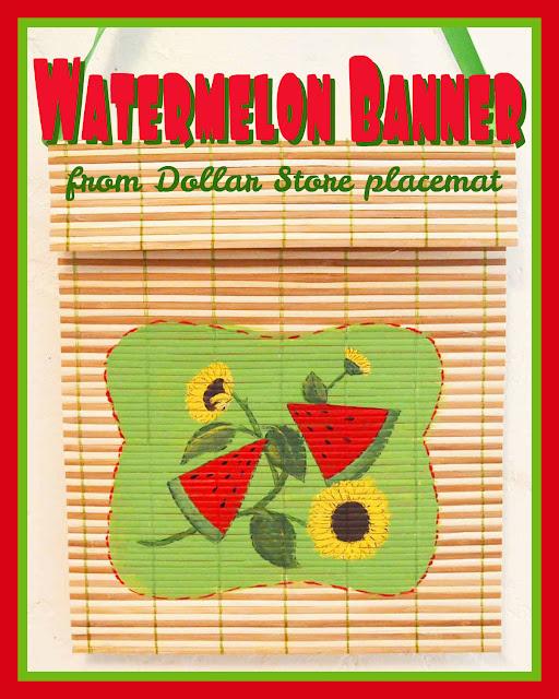Watermelon Banner by Mural Maker