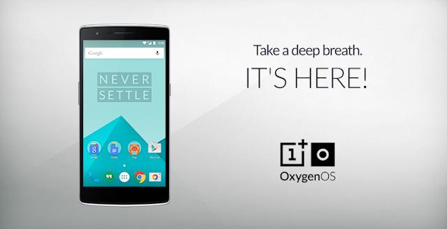 الآن نظام OxygenOS المنتظر من شركة One Plus متاح للتحميل