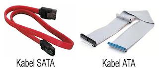 Perbedaaan Kabel SATA dan ATA