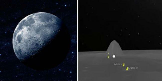 UFO - Objek Misterius di Bulan
