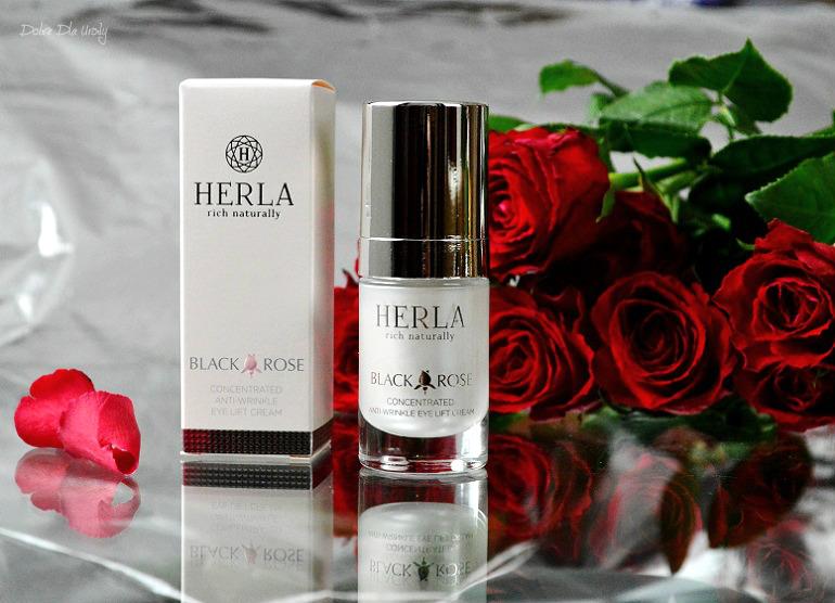 Herla Black Rose Skoncentrowany Przeciwzmarszczkowy Krem Liftingujący do okolic oczu