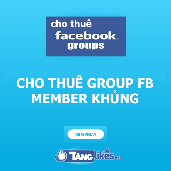 cho thue group facebook