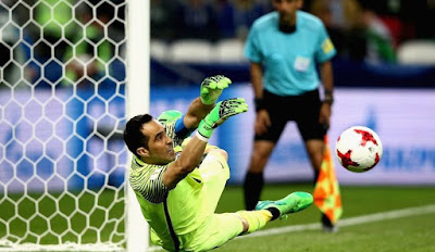 FIFA Confederation Cup: Bravo Saves Three Penalties, Put Chile in Final