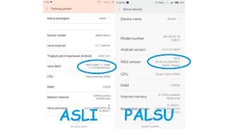 Cara cek ROM Xiaomi asli atau palsu