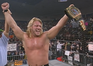 WCW Souled Out 1998 - Chris Jericho beat Rey Mysterio for the Cruiserweight title