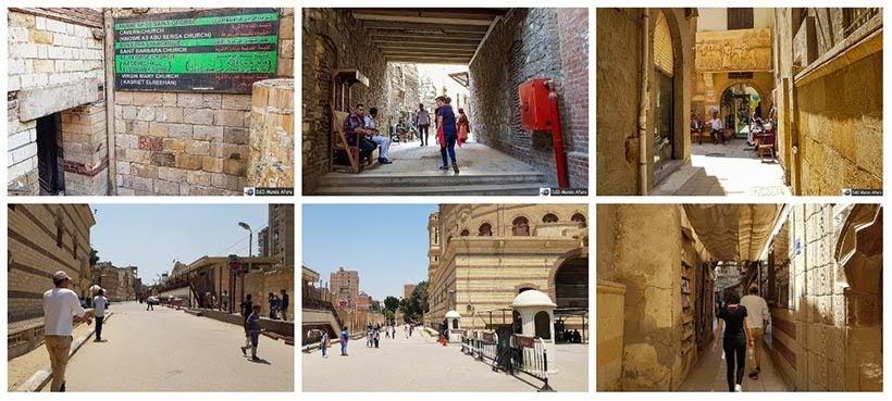 Bairro Cairo Copta - Diário de Bordo: 2 dias no Cairo