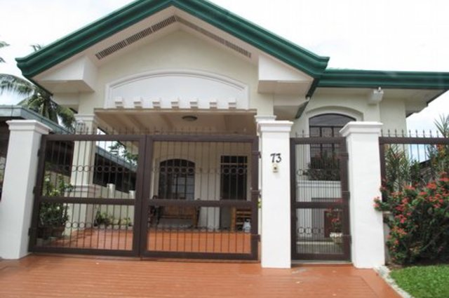 The best bungalow styles and plans in philippines bahay ofw for Single roof line house plans