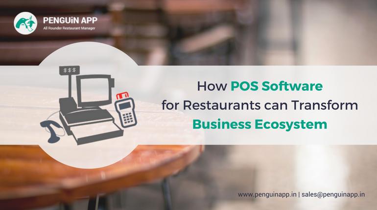POS Software for Restaurants