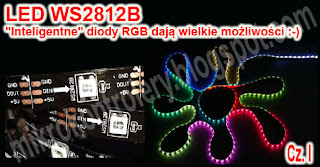 XMEGA i diody WS2812B - RGB i wielkie możliwości.