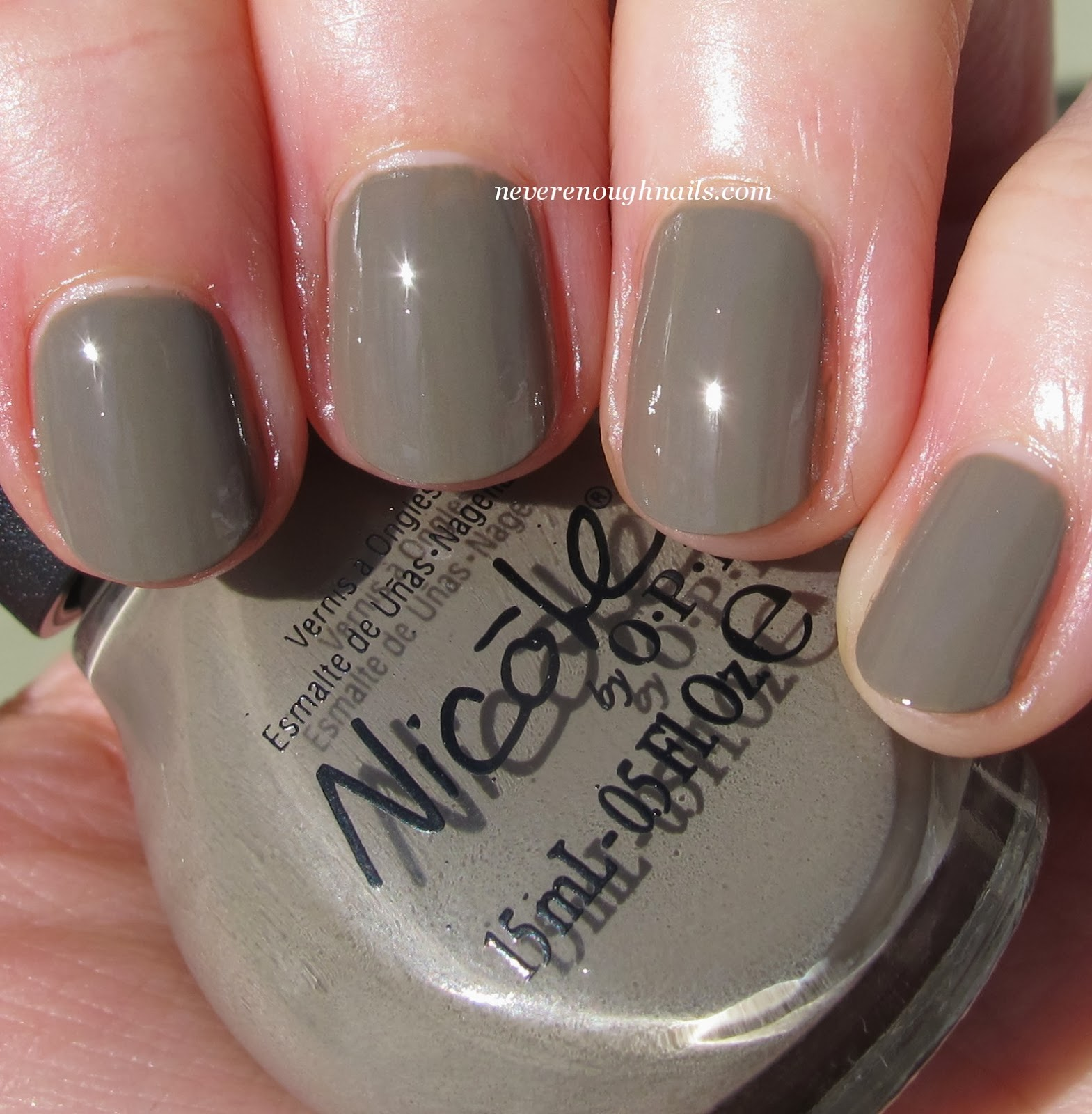 Never Enough Nails: New Nicole by OPI Lacquers- the Neutrals