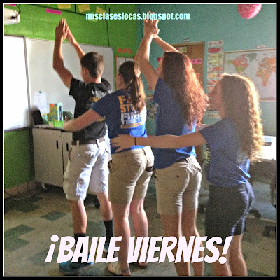 Baile viernes! - Get your Spanish class moving with Mis Clases Locas