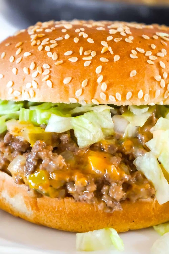 Big Mac Sloppy Joes #dinner #recipe