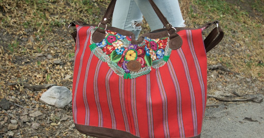 Guatemala Embroidered Bags
