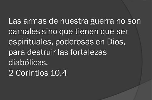 Las Armas Espirituales Para Vencer Las Dificultades En Dios