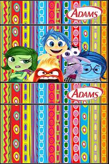 Etiqueta Golosinas Adams para Imprimir Gratis de Del Revés.