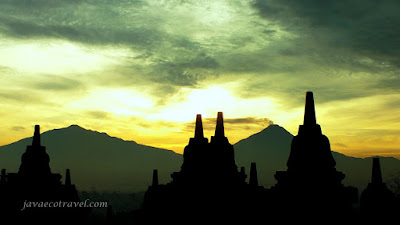 borobudur and the volcano