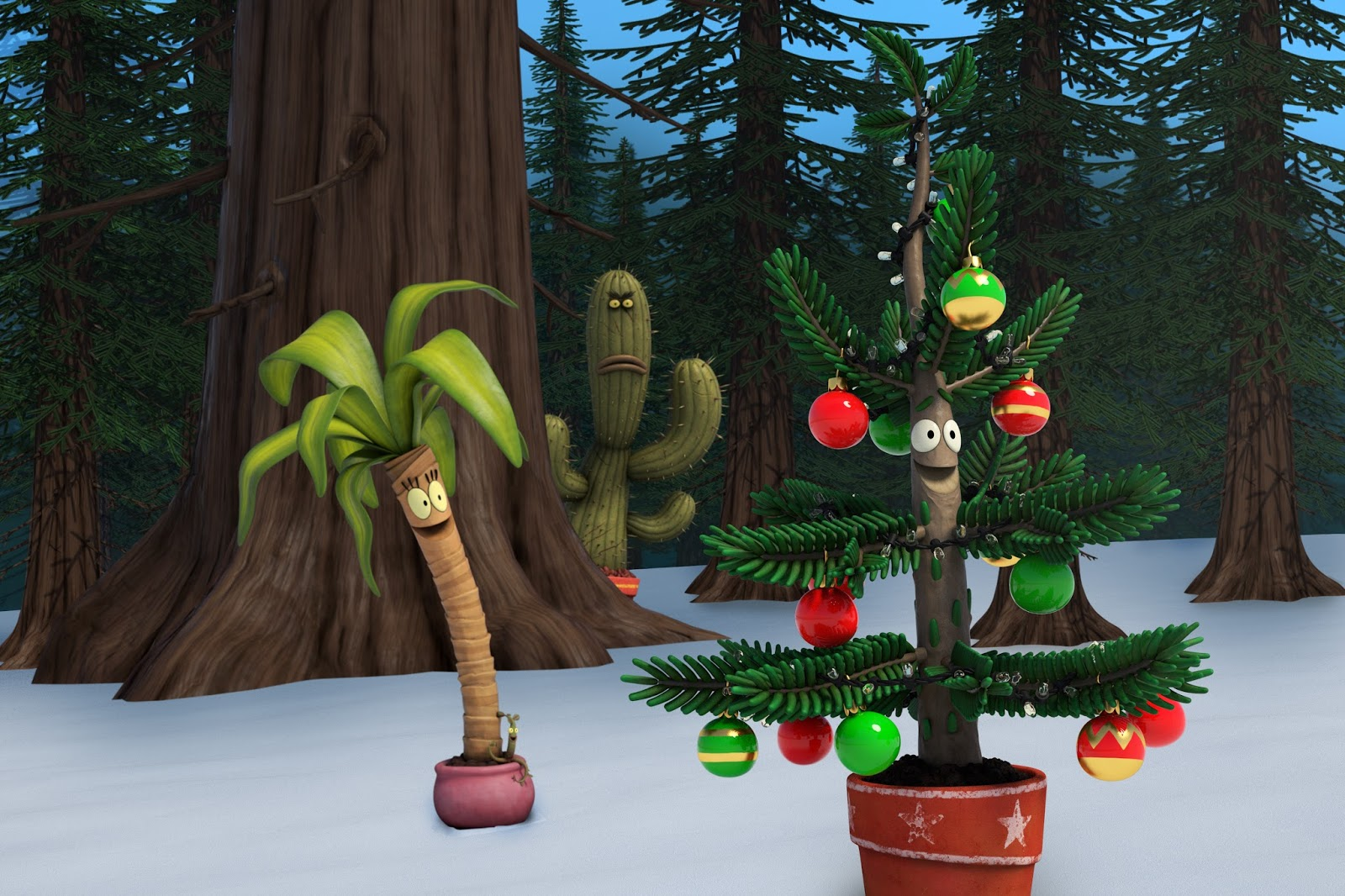Albert Maisie Gene Cactus Pete