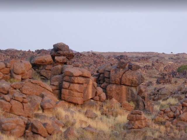 Rocce della Giant's Playground Keetmanshoop