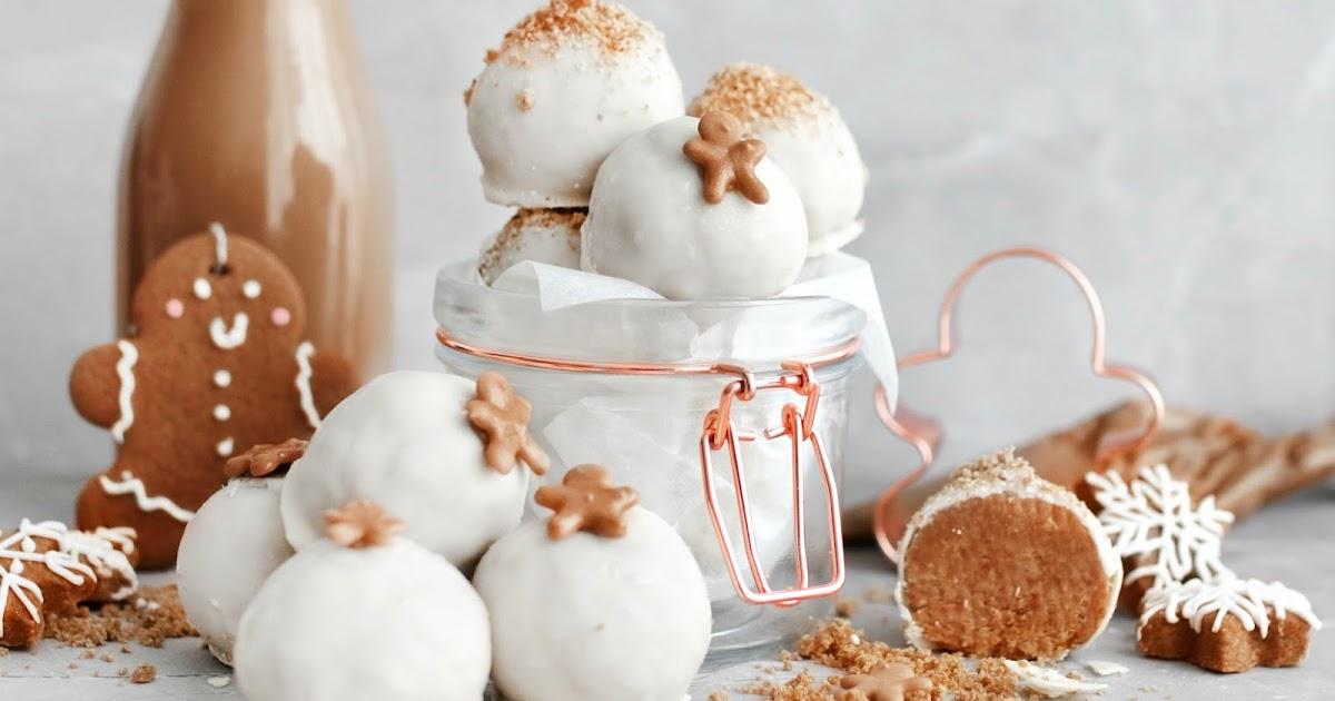 No-bake gingerbread cheesecake truffles recipe | The ...