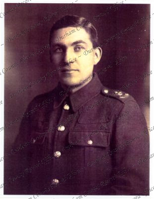 Charles Moss, 18th Battalion, Durham Light Infantry, 1915 (D/DLI 7/478/6)