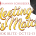 Book Blitz & Giveaway -  Meeting His Match by Shannyn Schroeder