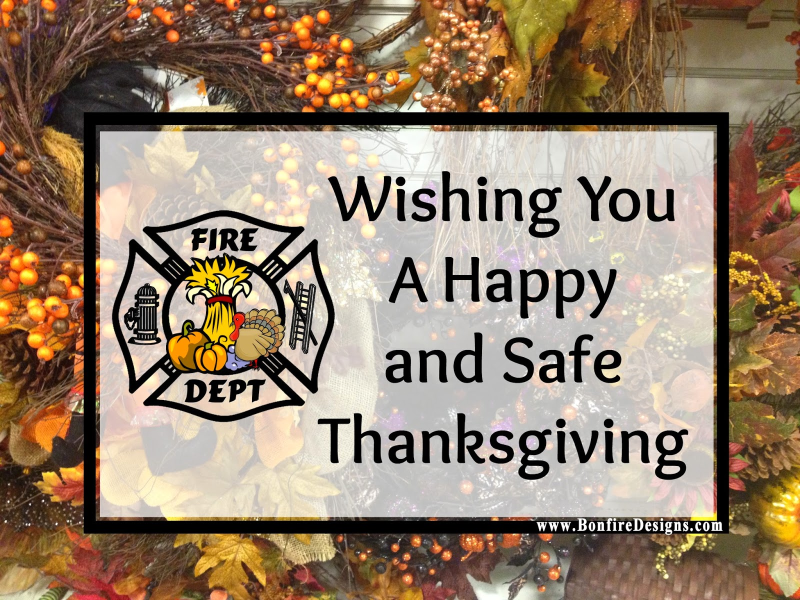 Firefighter Thanksgiving