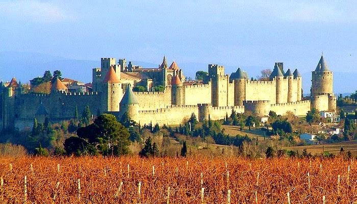 Carcassonne-Vignes castle