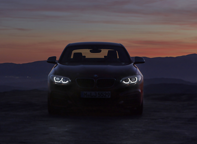 2018 BMW 2 Series Coupe Exterior and Lighting Design