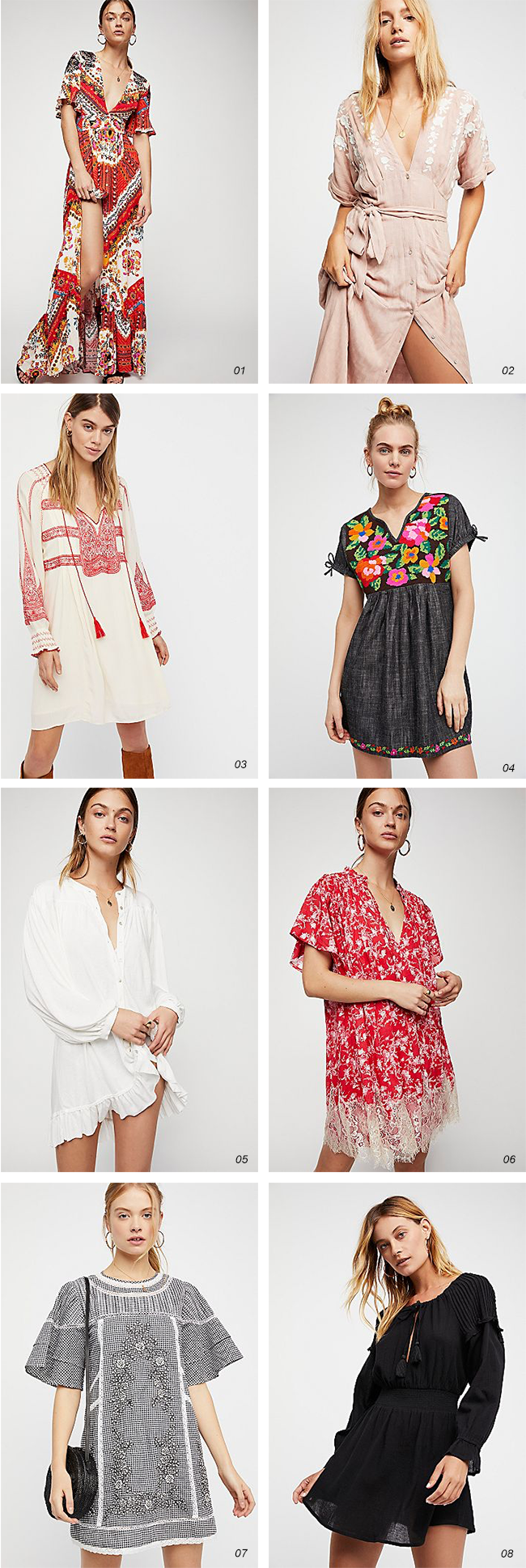 8 Gorgeous Springtime Dresses