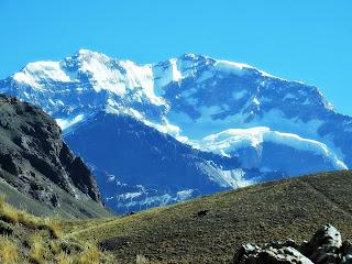 Glaciar Superior e Aconcágua, Parque Provincial Aconcagua, Mendoza