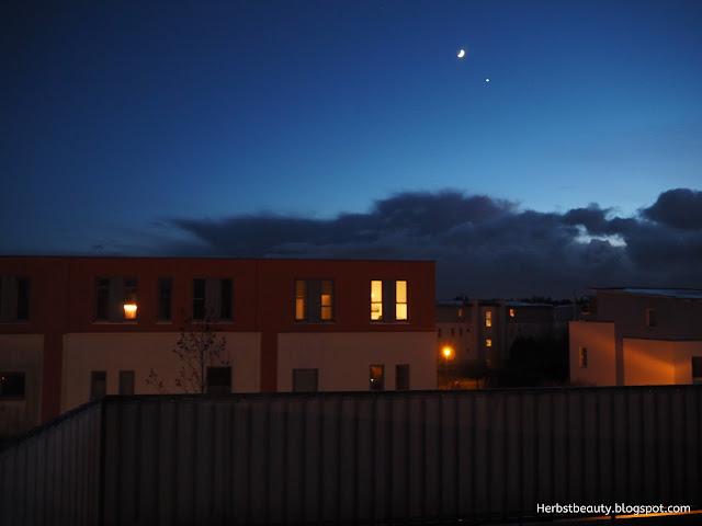 Berlin Mond mit Venus