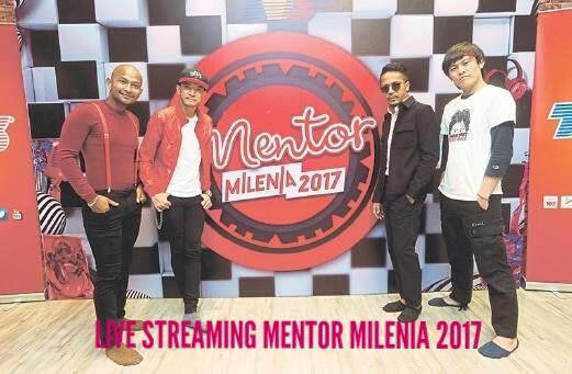 Live Streaming Keputusan Mentor Milenia 2017 Suku Akhir