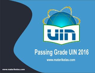 Passing Grade UIN Jakarta 2017