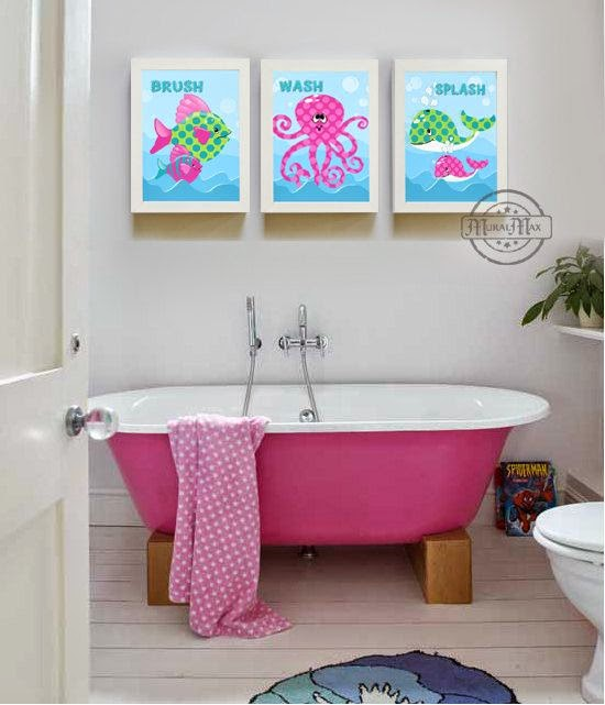 Try Wall Decals Or Stickers In Case You Need Economical Décor Ideas For Kids Bathroom Then Should Opt
