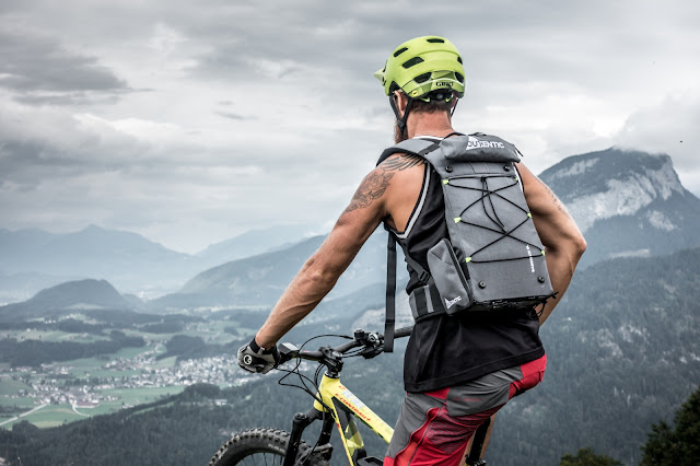 MTB - Outentic Bikerucksack mit neuartigem Tragesystem