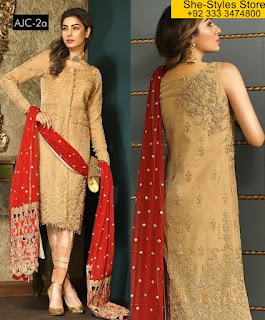 Asim Jofa. Luxury Chiffon Collection 2017-18