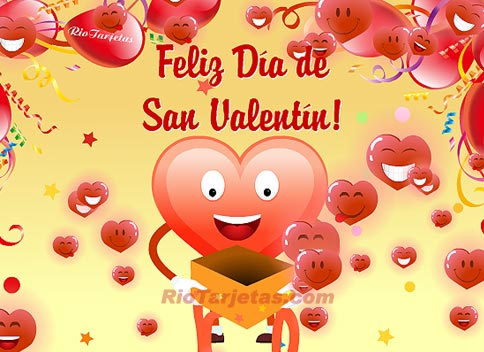 Gifs y postales Feliz día de San Valentín