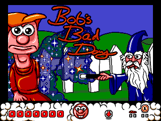 Bob's Bad Day title screen