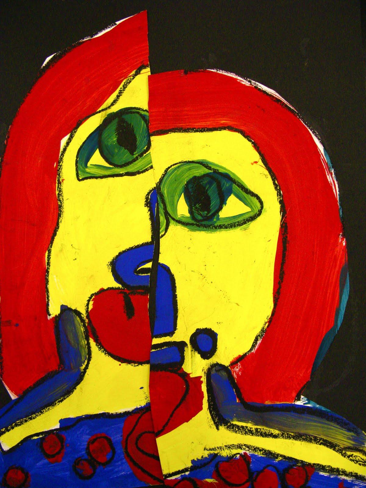 Picasso Unit by Kindergarten | Mrs. Taylor's Artopolis