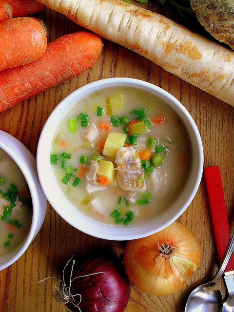 Amerykańska zupa rybna / Fish Chowder