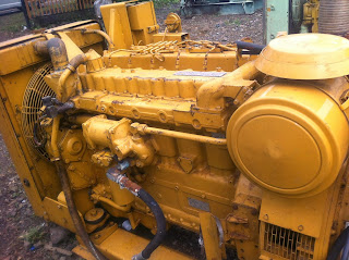 CAT 3306, caterpillar, used, marine, diesel, genset, ship, standby